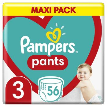 Pampers Pants Μέγεθος 3 (6-11 kg) 4 πάνες