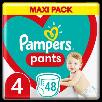 Pampers Pants Μέγεθος 4 (9-15 kg) 48 πάνες