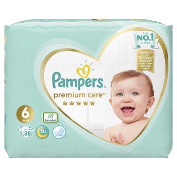 Pampers Premium Care Μέγεθος 6 (13+ kg) 38 πάνες