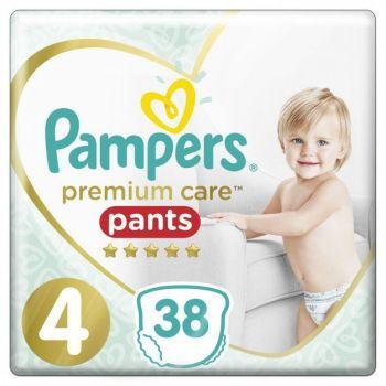 Pampers Premium Pants Μέγεθος 4 (9-15 kg) 38 πάνες