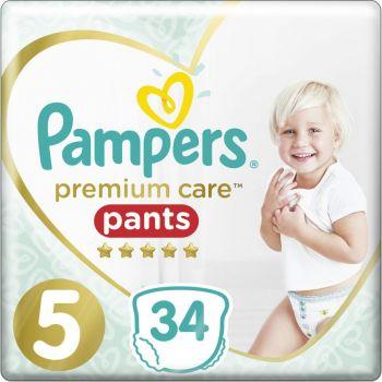 Pampers Premium Pants Μέγεθος 5 (12-17 kg) 34 πάνες