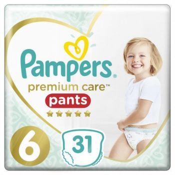 Pampers Premium Pants Μέγεθος 6 (12-17 kg) 31 πάνες
