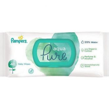 Pampers Wipes Pure 48 τεμάχια