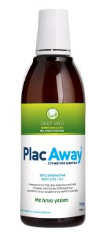 Plac Away Care Daily Mild Στοματικό Διάλυμα 500ml