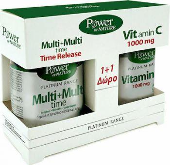 Power Health Classics Platinum  Multi+Multi Time 30tabs