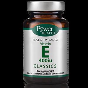 Power Health Classics Platinum  Vitamin E 400iu 30caps