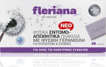 Power Health Fleriana Εντομοαπωθητικά Πλακίδια 30τεμ + Συσκευή