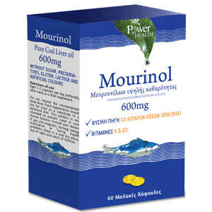 Power Health Mourinol Γεύση Μάνγκο Ροδάκινο 250ml + Δώρο Mourinol 600mg 20caps