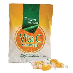 Power Health Vita C Caramels 60gr