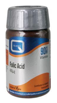 Quest Folic Acid 400μg 90tabs