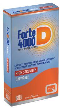 Quest Forte D 4000 60 chewable tabs