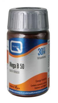 Quest-Συμπλήρωμα-Διατροφής-Mega-B-100-60tbs