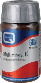 Quest Multimineral 10 60tabs
