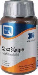 Quest Stress B Complex with Vitamin C 500mg 30tabs