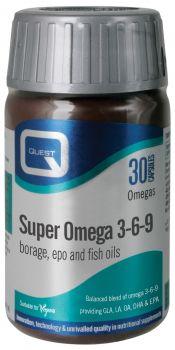 Quest Super Omega 3-6-9 30caps