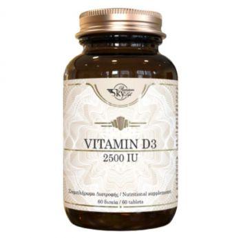Sky Premium Life Vitamin D3 2500IU 60caps