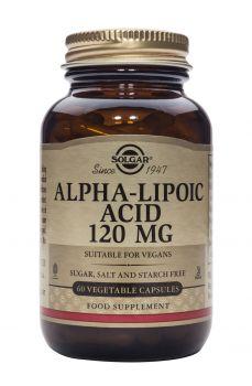 Solgar Alpha Lipoic Acid 120mg 60caps