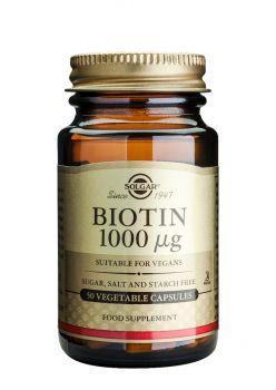 Solgar Biotin 1000mg tabs 100s