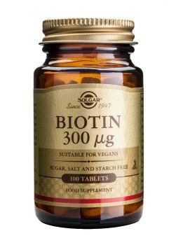 Solgar Biotin 300mg tabs 100s