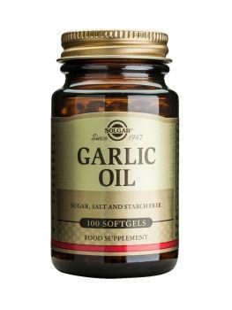 Solgar Garlic Oil Softgels 100s