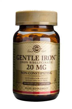 Solgar Gentle Iron 20mg Veg.caps 90s