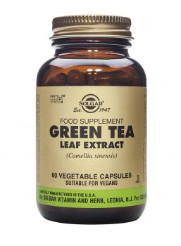 Solgar Green Tea Leaf Extract Veg. 60s