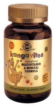 Solgar Kangavites Formula Tropical Tabs 60s