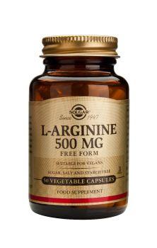 Solgar L-Arginine 500mg veg.caps 50s