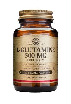 Solgar L-Glutamine 500mg 50caps