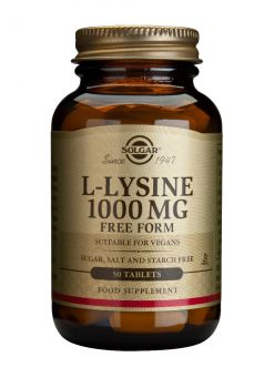 Solgar L-Lysine 1000mg tabs 50s
