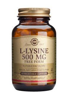 Solgar L-Lysine 500mg 50caps