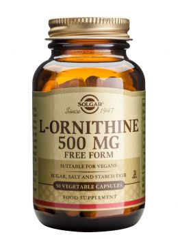 Solgar L-Ornithine 500mg 50caps