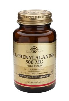 Solgar L-Phenylalanine 500mg 50veg.caps