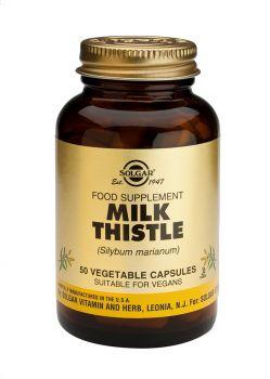 Solgar Milk Thistle Veg.caps 50s