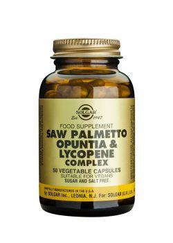 Solgar Saw Palmetto Opuntia & Lycopene Complex 50caps