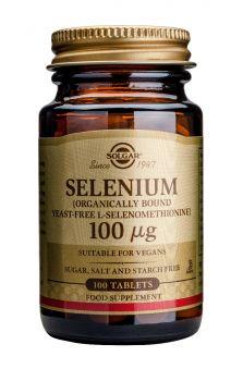 Solgar Selenium 100mg tabs 100s