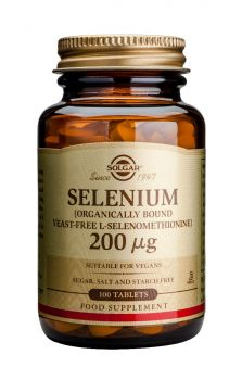 Solgar Selenium 200μg Tabs 100s