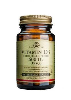 Solgar Vitamin D3 600IU veg caps 60s