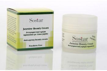 Sostar Jasmine Beauty Cream Κρέμα Προσώπου 50ml