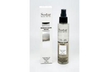 Sostar Spray (Μatte) Ενυδάτση & Σταθεροποιήση Μακιγιάζ 125ml (Ασημένιο)