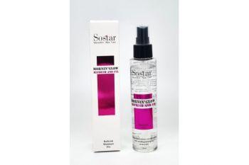 Sostar Spray(Refresh & Fix) Ενυδάτωση & Σταθεροποίηση Μακιγιάζ Πρσώπου 125ml (Φούξια)
