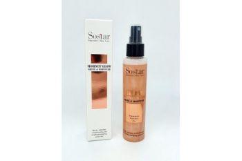 Sostar Spray (Shine & Moisture) Λάμψης & Ενυδάτωσης Προσώπου & Σώματος 125ml (Χάλκινο)