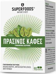 Superfoods Πράσινος Καφές 90tabs