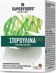 Superfoods Spirulina Gold 180tabs