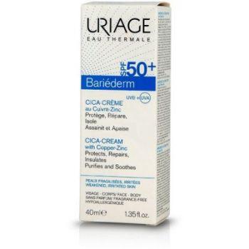 Uriage Bariederm Cica-Creme with Cu-Zn SPF50+ 40ml