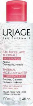 Uriage Thermal Micellar Water Fragrance Free Intolerant Skin 100ml