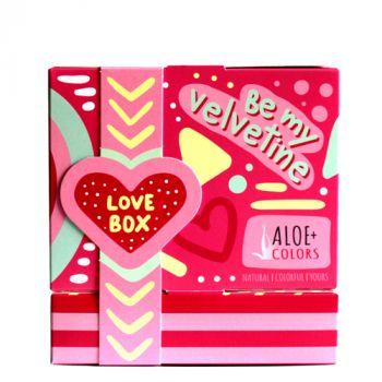 Aloeplus Love Box Be My Velvetine Σπρέι Σώματος και Μαλλιών 100ml & 3-σε-1 Ξηρό Λάδι 100ml