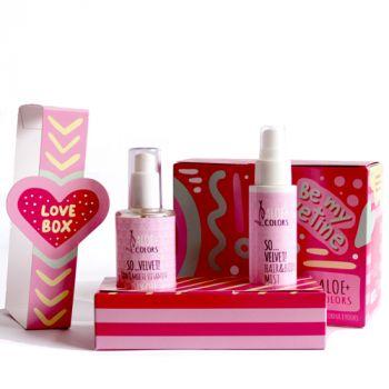 Aloeplus Be my Velvetine! Gift Set So Velvet με Σπρέι Σώματος και Μαλλιών 100ml & 3-σε-1 Ξηρό Λάδι 100ml