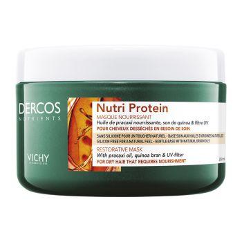 Vichy Dercos Nutrients Nutri Protein Μάσκα για Ξηρά Μαλλιά 250ml