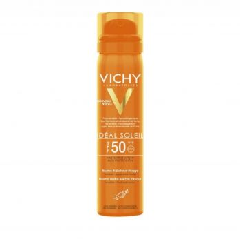 Vichy Ideal Soleil Brume Fraicheur Visage SPF50 Αντιηλιακό Mist Προσώπου 75ml